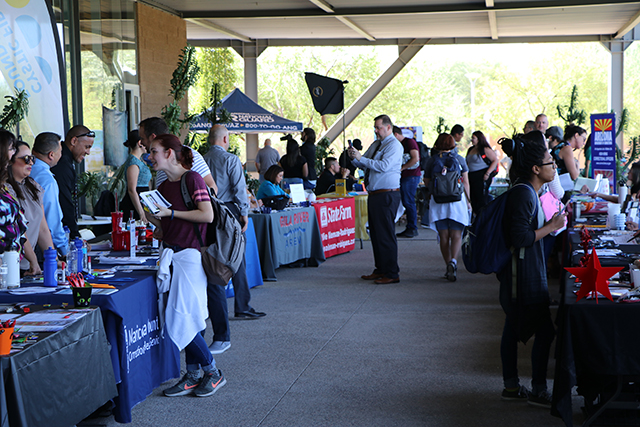 Attendance soars at EMCC's Fall Opportunity Fair
