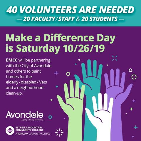 EMCC helps Avondale Make a Difference
