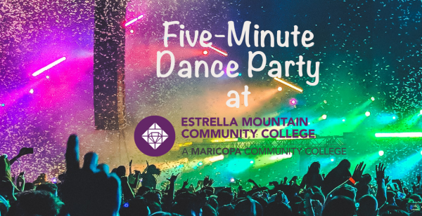 Join us for our five-minute dance parties!