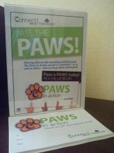 Paws in Action station.