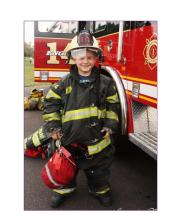 Little Fireman from Firefighter Camp