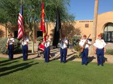 Old Breed Detachment # 767 Color Guard