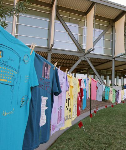 EMCC's Clothesline Project brings awareness to domestic violence