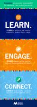 Bookmark front - Learn Engage Connect
