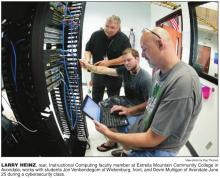 Cybersecurity Class, photo courtesy of West Valley View.